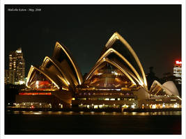 Opera House at Night II by FireflyPhotosAust