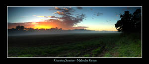 Country Sunrise by FireflyPhotosAust