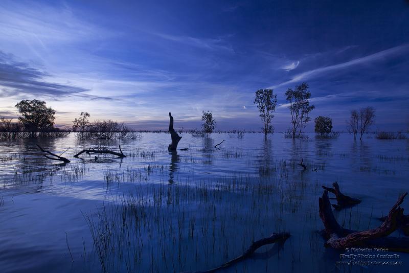 Menindee Blues by FireflyPhotosAust