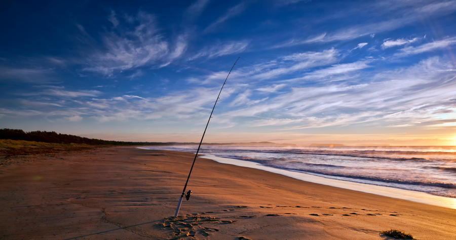 Broulee beach fishing by fireflyphotosaust on deviantart for How to fish from the beach