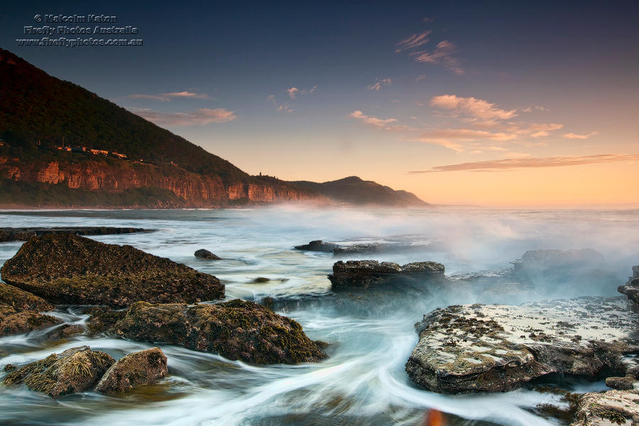 Coalcliff Rising by FireflyPhotosAust