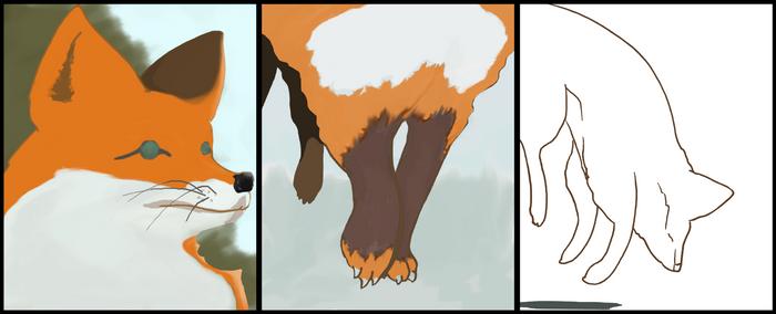 3 panel animal WIP 2.1