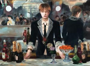 A Bar at Folies Bergere - Reinterpretation