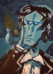 Blue artist by muhvu