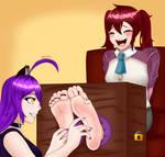 Luna and Alyssa's Tickle Fun