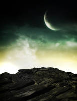 Moon Premade Background by anulubi