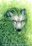 The Plant Spirit ACEO