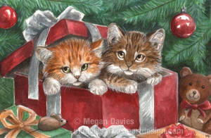 Kittens in Toyland by Pannya