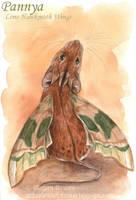 Pannya - Lime Hawkmoth Wings by Pannya