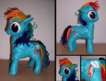 MLP:FiM Rainbow Dash Plush