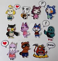Animal Crossing Sticker Time!