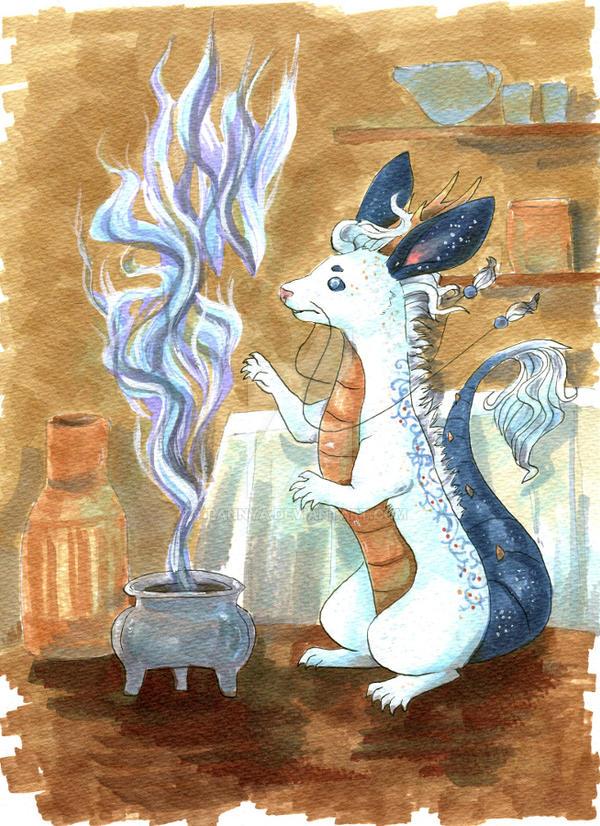 FAX November: Enchanted Incense by Pannya