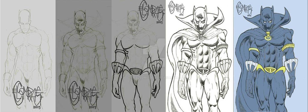 Black Panther WIP by CelsoMF