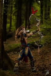 Aloy (horizon zero dawn) cosplay by Like Linda by LikeLinda