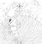 Goku vs Piccolo by Rei-Erv