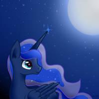 Princess Luna by SonataSketch