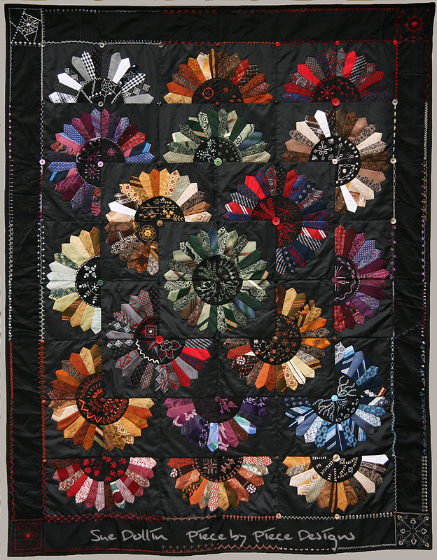 Heirloom Ties by suedollinQuilts