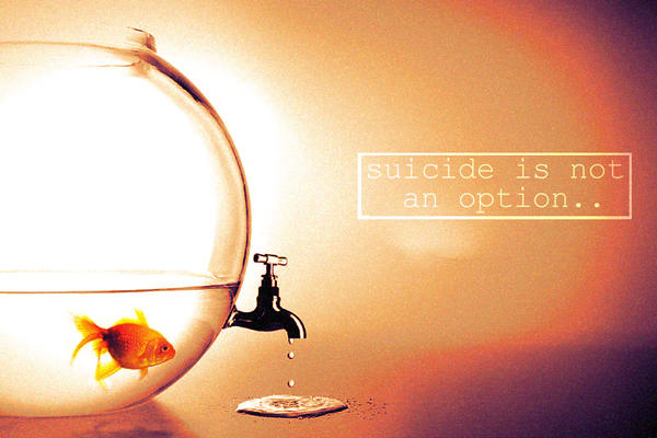 suicide is not an option by Moon1g