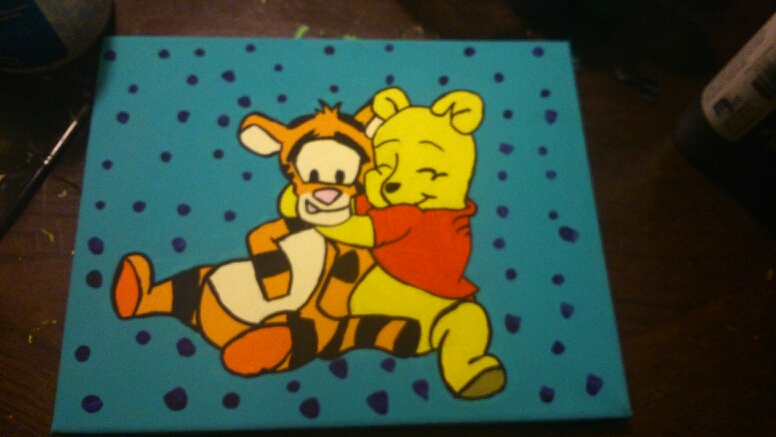 Baby Pooh Bear And Baby Tigger By Evil Nights On Deviantart