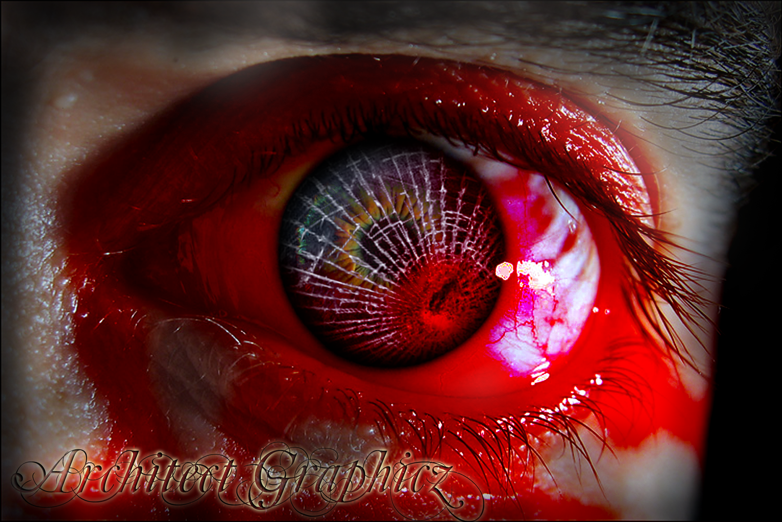 BROKEN EYE 2 by ArchitectGraphicz on deviantART: architectgraphicz.deviantart.com/art/broken-eye-2-101325387