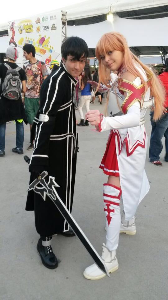 Asuna and Kirito by BahDecnop