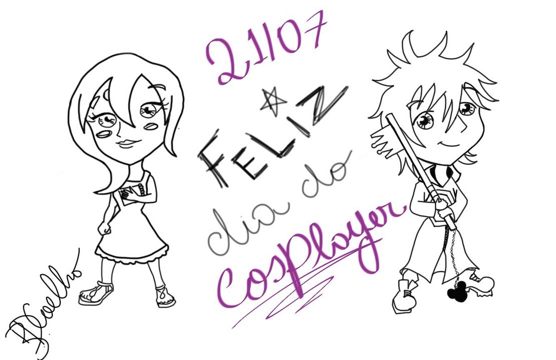 Feliz Dia do Cosplayer - Happy Cosplayer day by BahDecnop