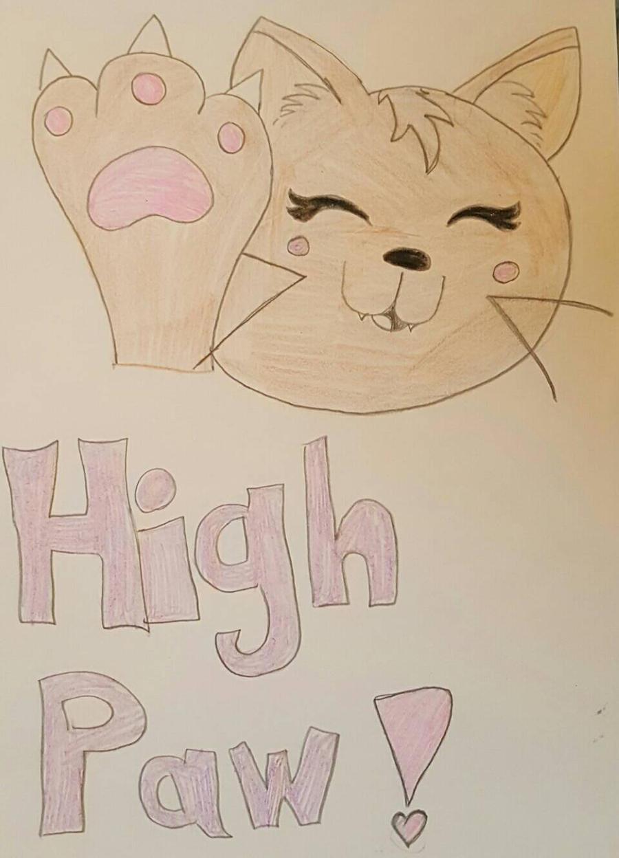 High Paw by xXPixelatedARTSXx
