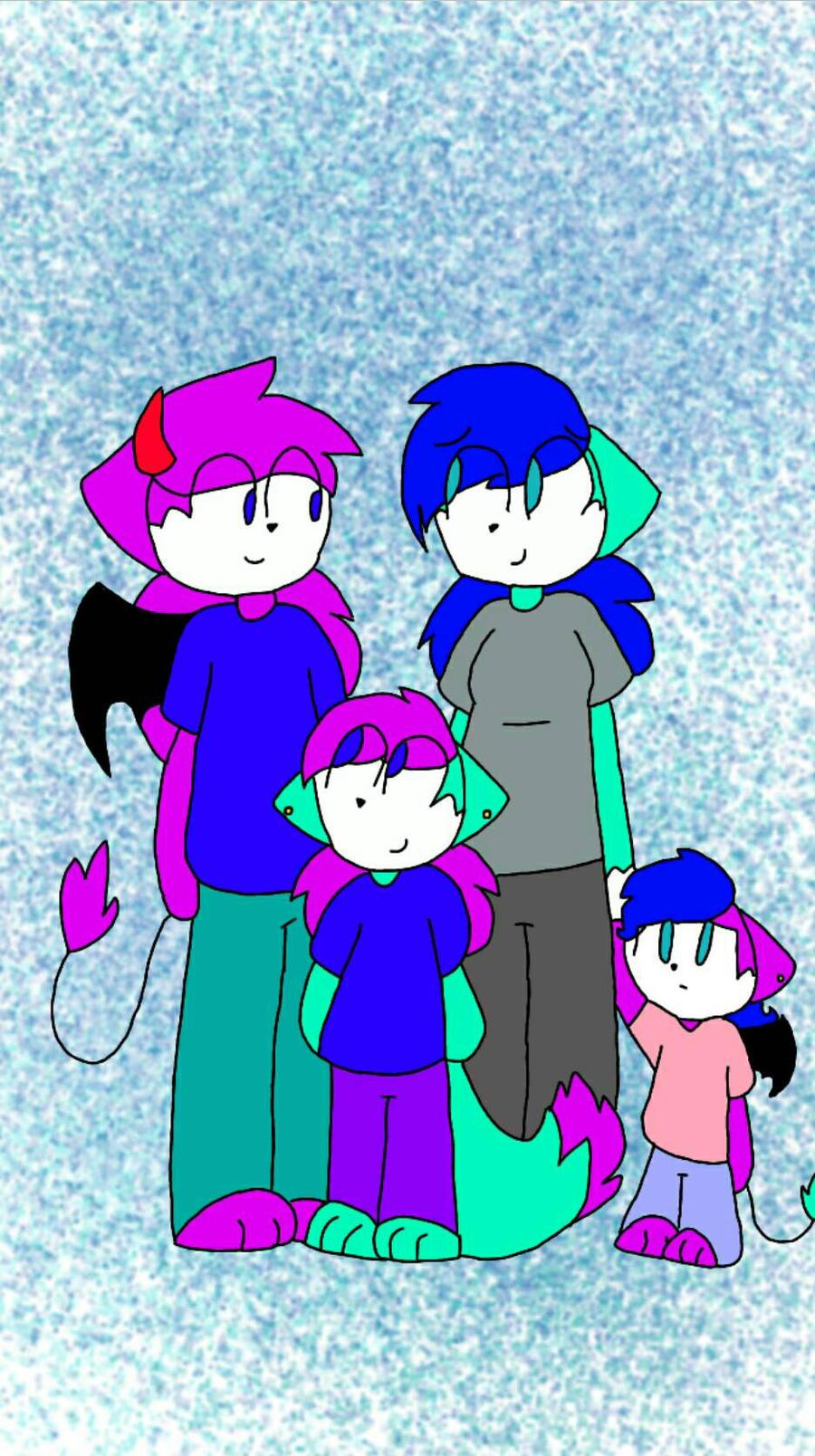 Galliex's Family by Galexeon  by xXPixelatedARTSXx