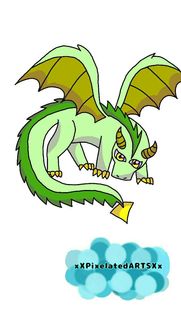 Dragon  by xXPixelatedARTSXx