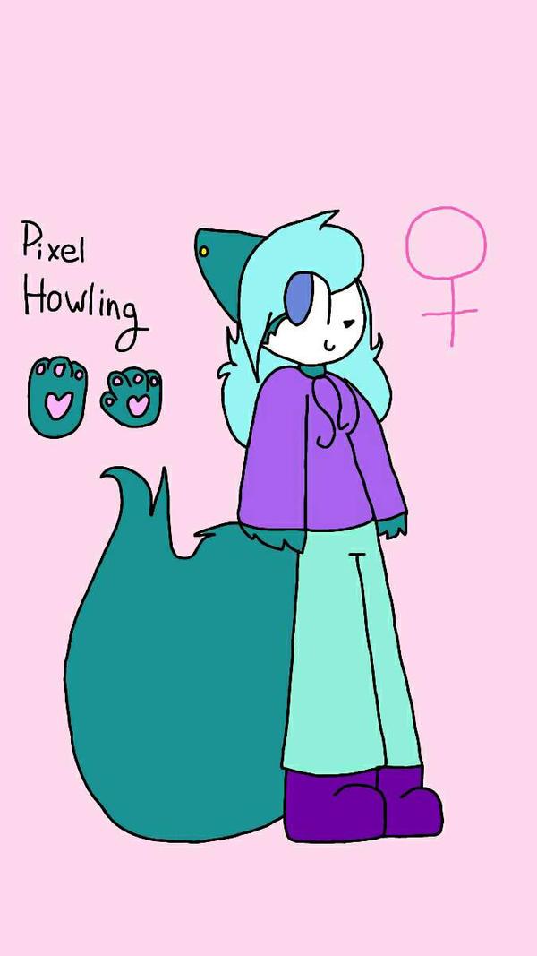 Pixel Howling  by xXPixelatedARTSXx