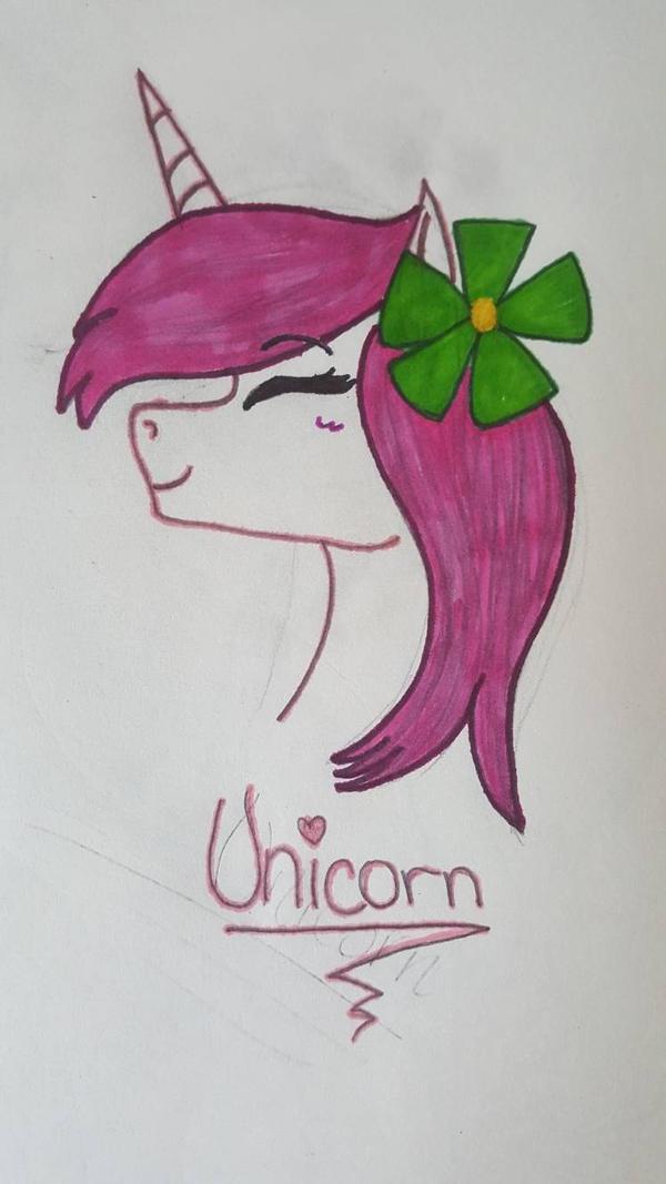Pink Unicorn by xXPixelatedARTSXx