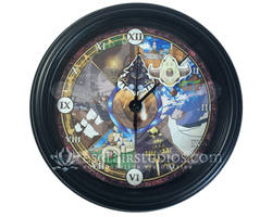 The Wings of Time - Chrono Trigger Wall Clock