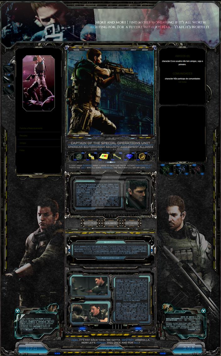 Webgameinterface by handgunbullets