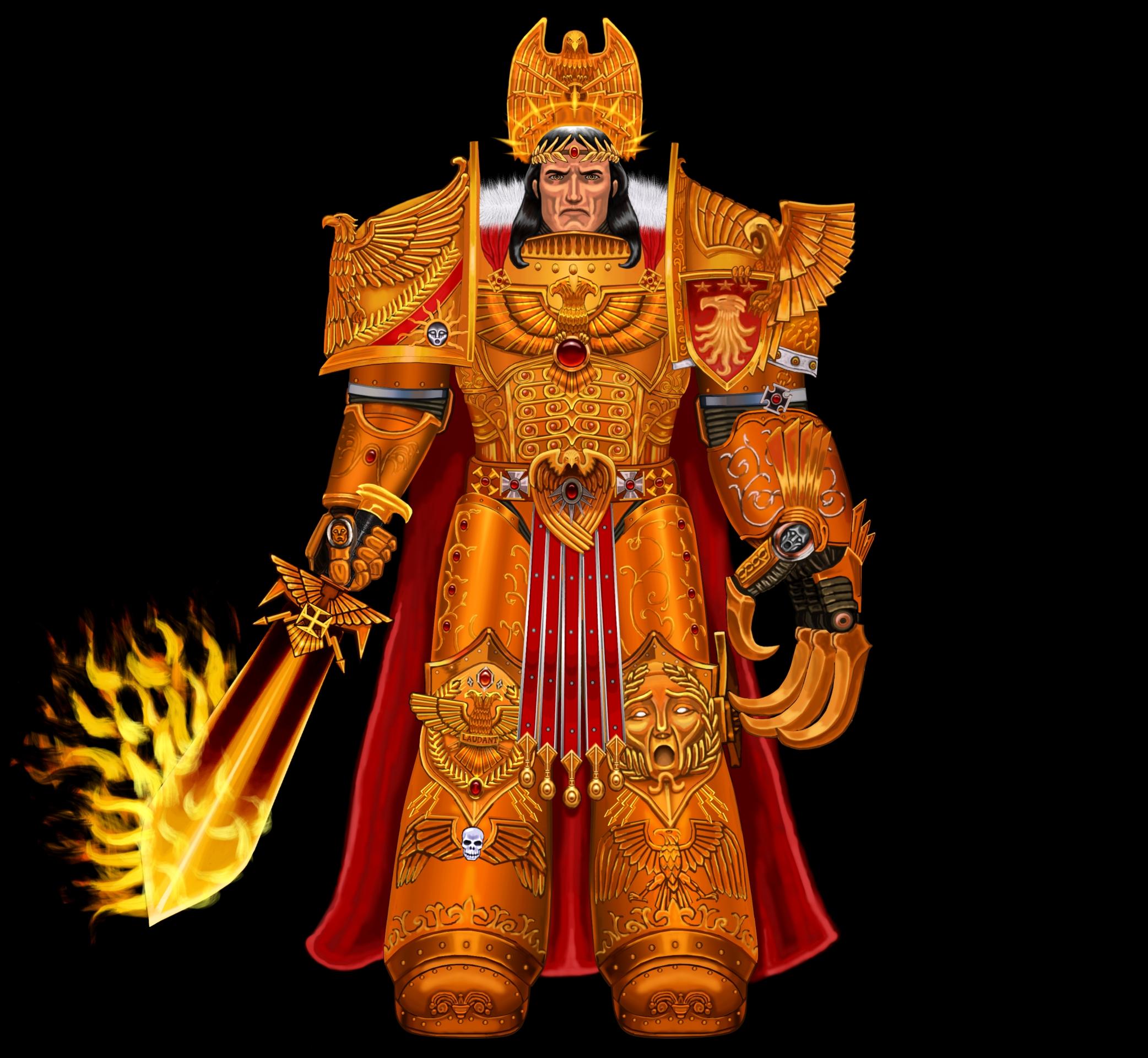 the Emperor of Mankind v0.2 by Mr-retro-Man on DeviantArt