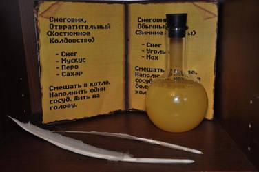 Yellow Potion from Kyrandia