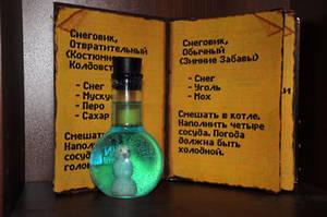 Snowman potion from Kyrandia 2