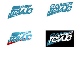 PSP and Gamer Revue logotype by Drag-01