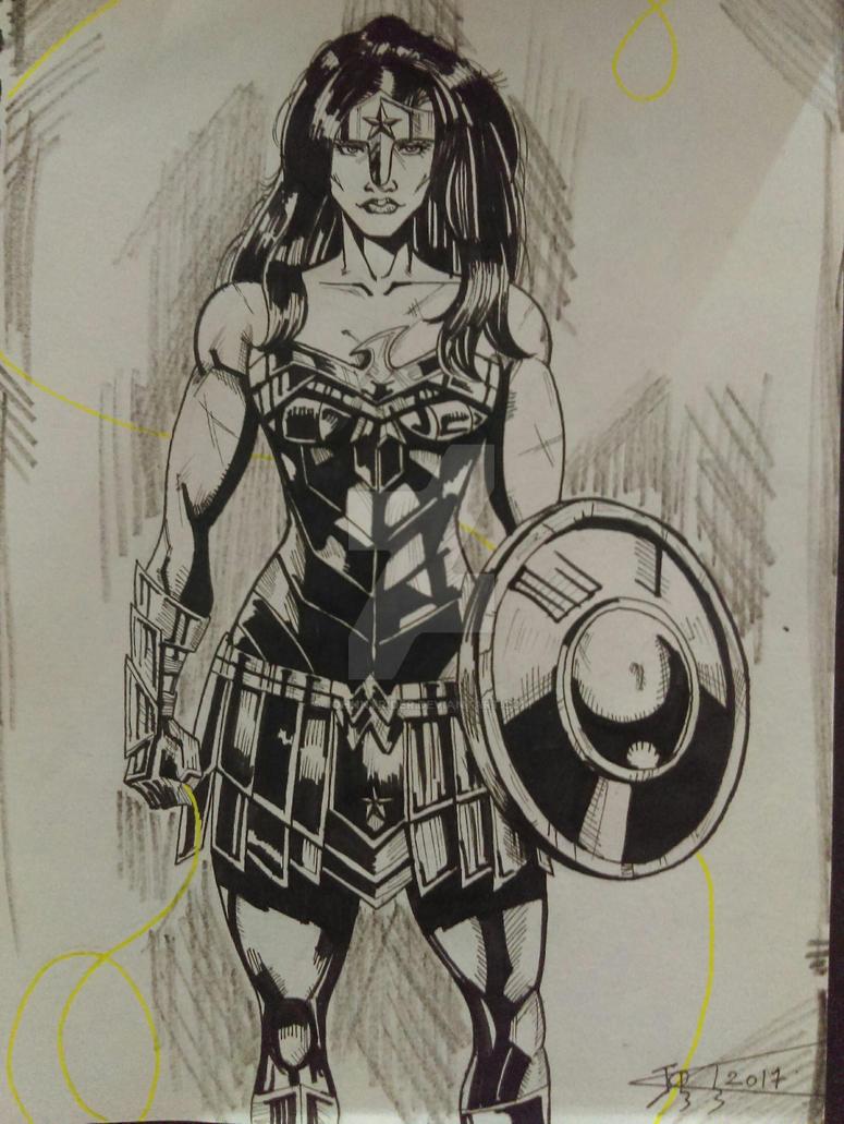 Wonder Woman by johnnyrider