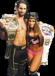 Seth Rollins and Nikki Bella B00
