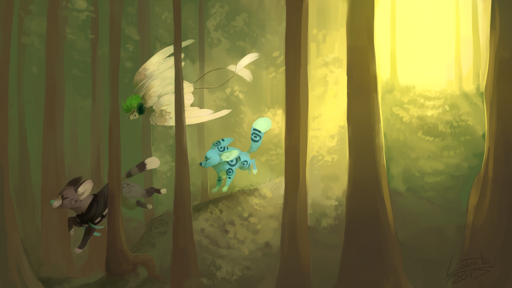 Forest Adventures by Lisanata