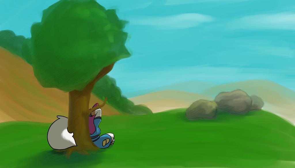 Midday Break by LumiSquirrel