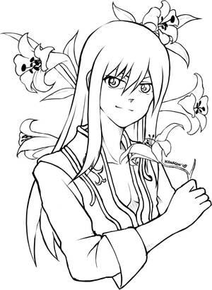 Sketch_Yuri by KarraKon