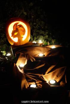 Tempest Shadow in Pumpkin
