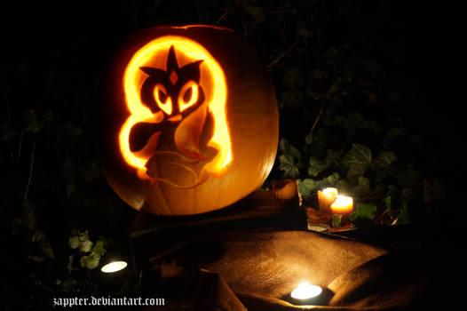 Nightmare Rarity in Pumpkin