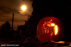 Grey Knight in Pumpkin