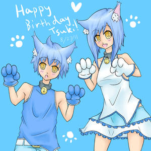 Happy Birthday Tsuki
