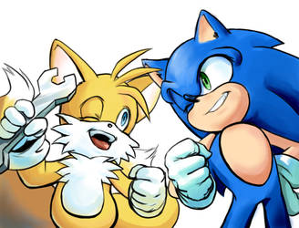 Sonic Tails by ashen0507