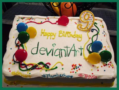 Happy Birthday deviantART