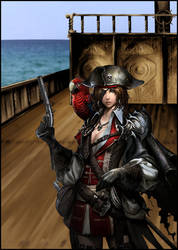 Dirty Pirate Girl