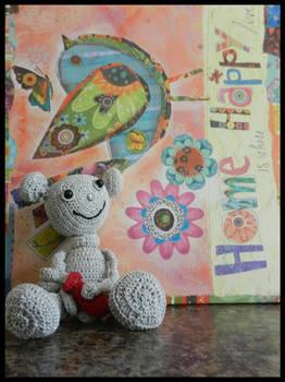Thumbbot Crocheted